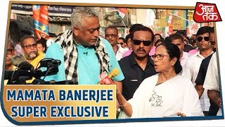 Super Exclusive Interview: Mamata Banerjee ने रोड शो में दिए Rajdeep Sardesai के सवालों के जवाब