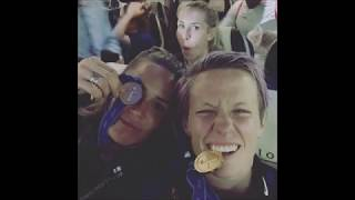 USWNT celebrates World Cup win with their families and friends