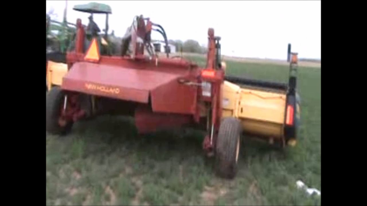 2004 New Holland 1475 mower conditioner for sale   sold at auction May 28,  2014