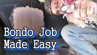 How To Fix A Dent From Start To Finish - Part 2 - Painting The Door Jamb thumbnail