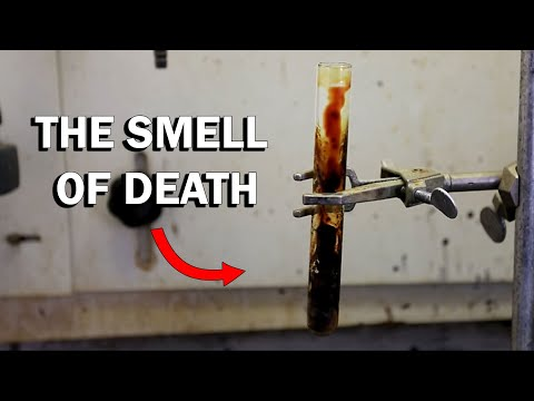How to make Putrescine (Smell of Death and Decay)