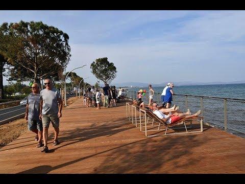 La nouvelle promenade du front de mer