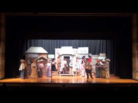 Dutchman Creek Middle School Music Man 8th Grade Cast