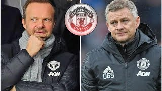 Man Utd chief Ed Woodward has given sack verdict to Ole Gunnar Solskjaer- transfer news today