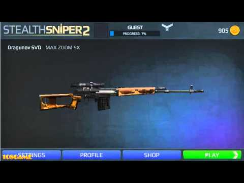 Stealth Sniper 2 - Full Game Walkthrough (All 1-4 Missions)