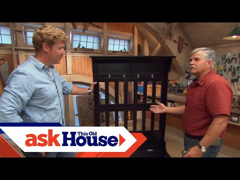 How To Build A Storage Bench Ask This Old House Youtube