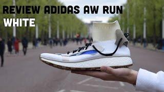 review aw run white adidas x alexander wang fr on feet