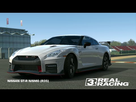 Testing The GT-R R35 Nismo #REALRACING3