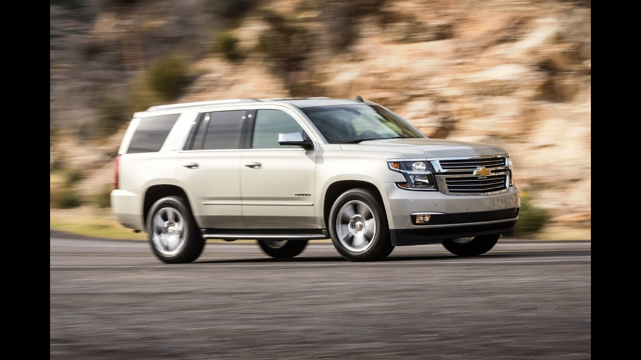 Chevy Tahoe Mpg >> 2015 Chevrolet Tahoe Review | Edmunds.com - YouTube