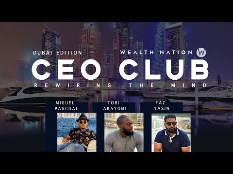 CEO CLUB - HOW TO REWIRE YOUR MIND (DUBAI EDITION)