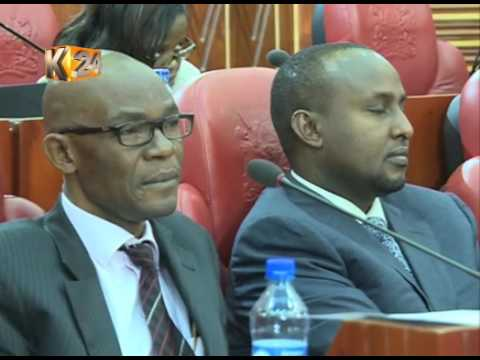 Justice and legal affairs c''ttee clears IEBC of any wrongdoing in petition probe.