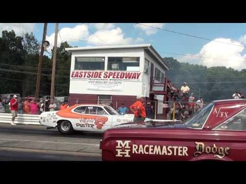 Ed Miller and Steve Moths Match Race at Eastside Dragway Waynesboro, Oct. 2016