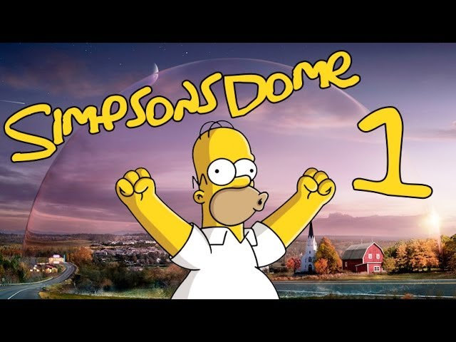 Under The Simpsons Dome Youtube
