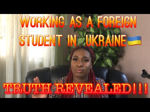 Jobs In Ukraine For Foreign Students | Working In Ukraine Revealed! 😱🇺🇦