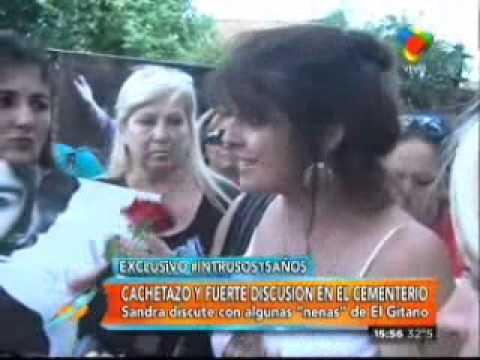 Escándalo en el aniversario de la muerte de Sandro