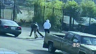 Violent Attack on Man Leaving Oakland BART Station Caught on Camera