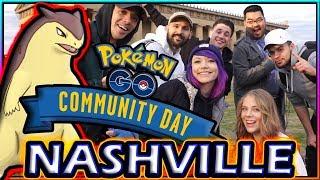 SHINY CYNDAQUIL COMMUNITY DAY in NASHVILLE POKÉMON GO!