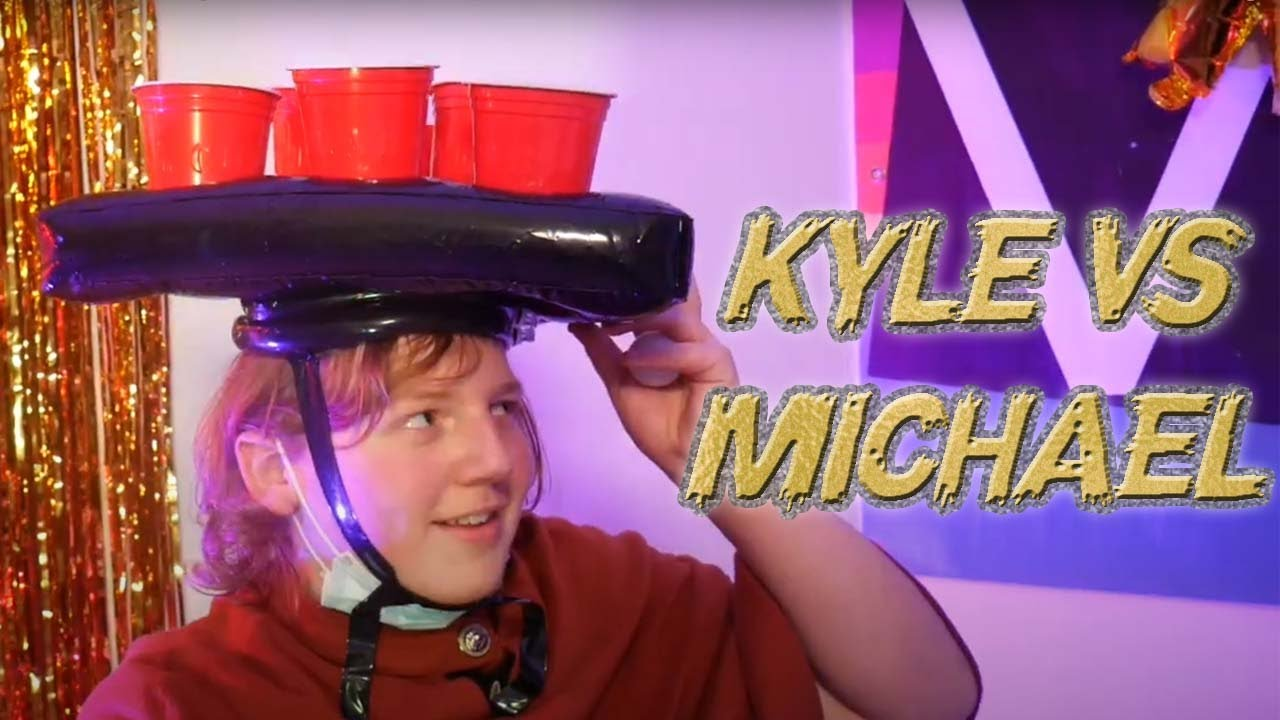 Kitchen Messi: Kyle vs Michael [Water Pong]