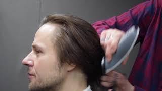 Удлиненная современная мужская стрижка / long man's haircut