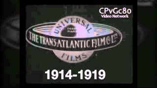 Universal Pictures Logo History 1914-2013