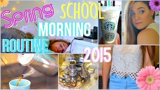 Spring Morning Routine for School 2015 | collab with idklottie