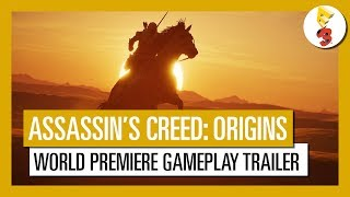 assassin s creed origins e3 2017 world premiere gameplay trailer