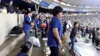 この音楽、太鼓好きです! 応援団さんが一生懸命なのが好きです!