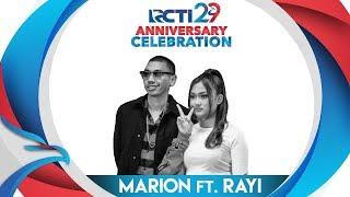 "RCTI 29 : ANNIVERSARY CELEBRATION – Marion X Rayi ""Jangan"" [23 Agustus 2018]"