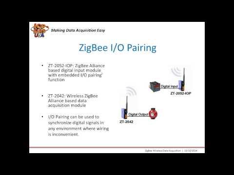 Zigbee Wireless Data Acquisition Webinar