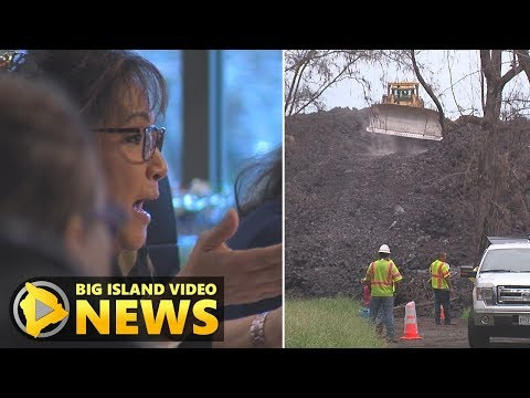 Hawaii Volcano Eruption: Council Talks Highway Recovery (Nov. 1, 2018)