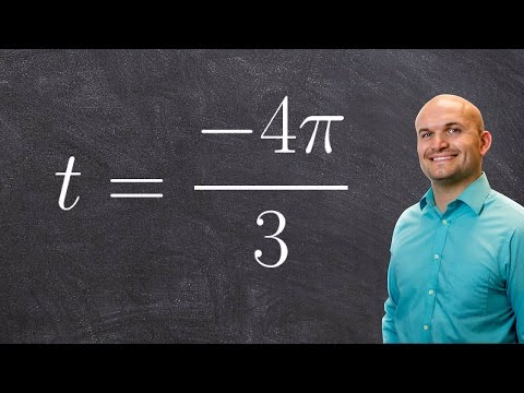Evaluate the six trigonometric functions of the real numbers