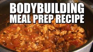 Bodybuilding Meal Prep Recipe | Quick Easy Pumpki Chili