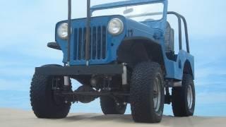 1957 Jeep Willys CJ-3b Build and Drive