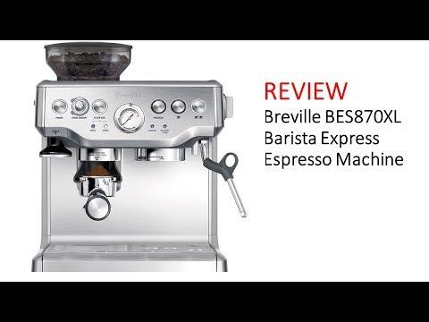 REVIEW | Breville BES870XL Barista Express Espresso Machine