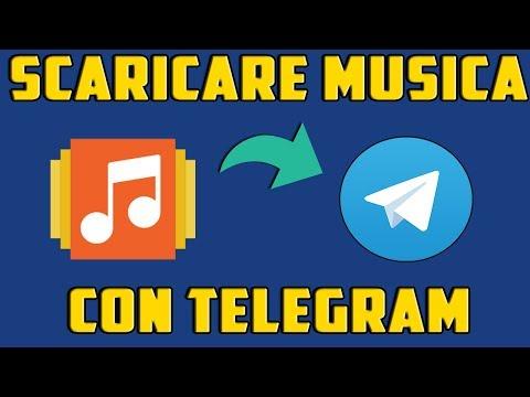 Come scaricare musica gratis in alta qualità con Telegram! - MIGLIORI BOT #1