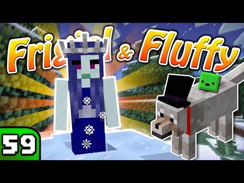 FRIGIEL & FLUFFY : La reine des neiges   Minecraft - S7 Ep.59