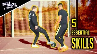 5 ESSENTIAL Football Skills   Silas uses in play