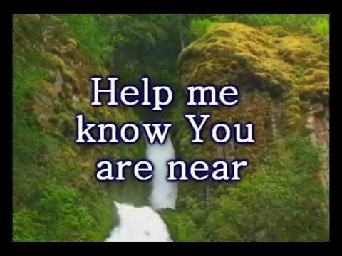 Draw Me Close Hillsong Worship Video W Lyrics Youtube