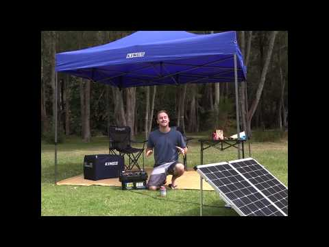 Check out this Battery, Battery Box and Solar Combination from Adventure Kings!