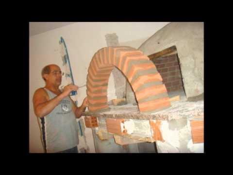 Come costruire un forno a legna youtube for Mattoni refrattari per forno a legna