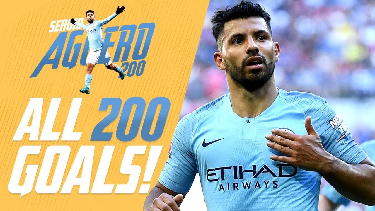 Download Sergio Agüero   All 200 Man City Goals