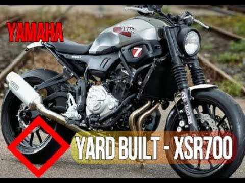 Yamaha Yard Built XSR700 Super 7 By JvB Moto