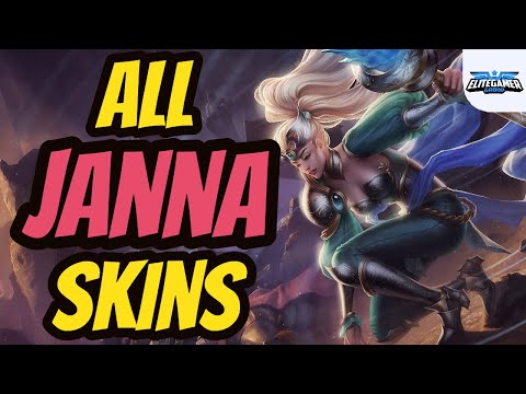 All Janna Skins Spotlight League of Legends Skin Review