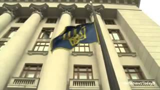 BBC News Activists guard Ukrainian presidential buildings