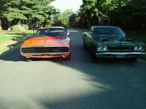 1970 Dodge Charger Vs 1969 Coronet Rt Youtube