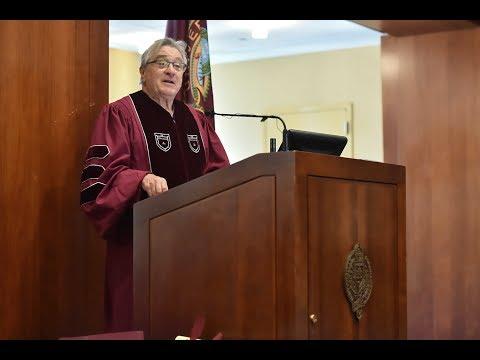 Robert De Niro Delivers IDHA 50 Commencement Speech