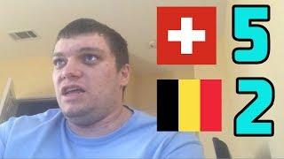 Switzerland vs Belgium(5-2) Seferovic Hattrick Reaction! 2018-2019 Nations League