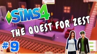 THE SIMS 4 #9 - The Quest for Zest | TheCurlyNoodles