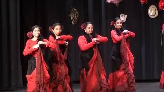 Spanish Flamenco Dance - Diwali 2017 - Maharashtra Mandal of Atlanta