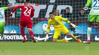 [Bundesliga] Wolfsburg vs Bayern Monaco 1-2 - Gol e highlights - 17/02/2018